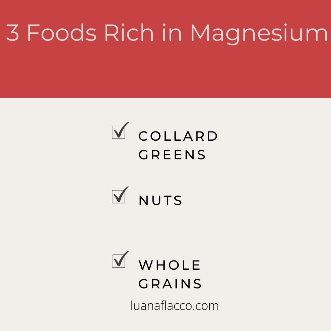 3 Foods Rich In Magnesium